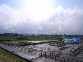 ほ場整備舟川新地区15工区工事 着工前