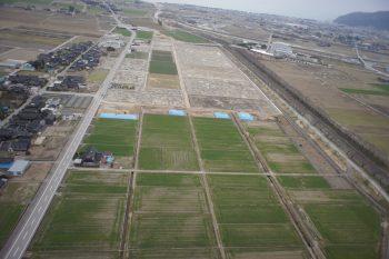 ほ場整備舟川新地区15工区工事着工前